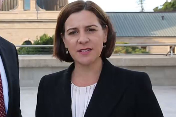Article image for Deb Frecklington believes the Premier is lacking long term vision