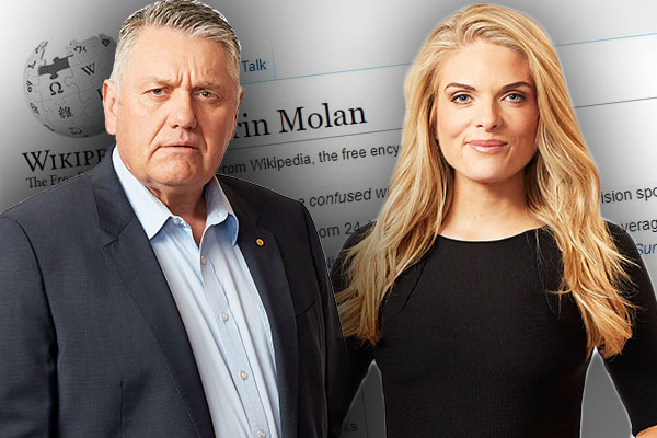 Article image for 'You sneaky little devil!': Is Erin Molan the main suspect in this hilarious mishap?
