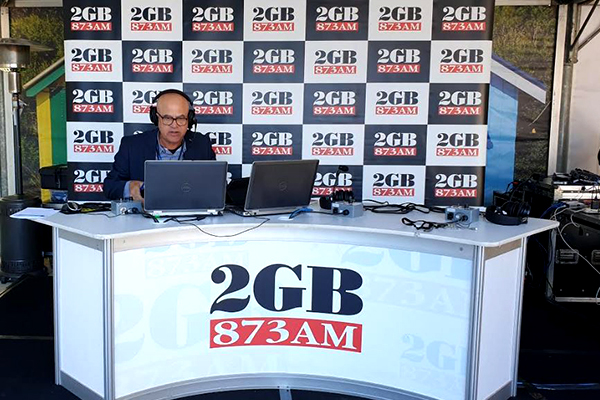 Article image for John Stanley broadcasts live from the Boat Show