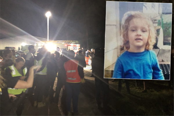 Desperate search for missing toddler ends in tragedy, Noosa