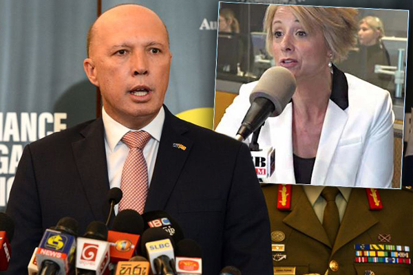 Article image for 'She just doesn't stop talking': Peter Dutton takes on Kristina Keneally
