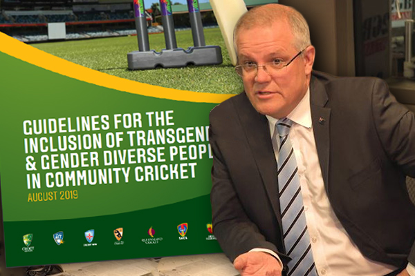 Article image for EXCLUSIVE | Prime Minister slams Cricket Australia's 'mystifying' transgender policy
