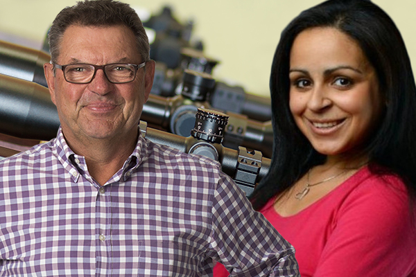 Article image for 'A completely different kettle of fish': Steve Price and Rita Panahi tackle US gun law debate