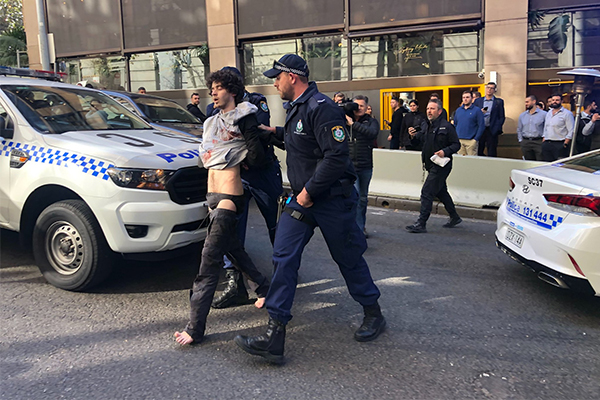 Woman dead after mental health patient goes on CBD stabbing rampage