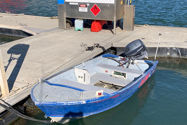 Article image for Police launch desperate search for QLD fishermen after discovering abandoned boat