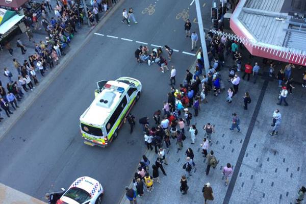 Article image for Multiple injured after car crashes into pedestrians in Brisbane CBD