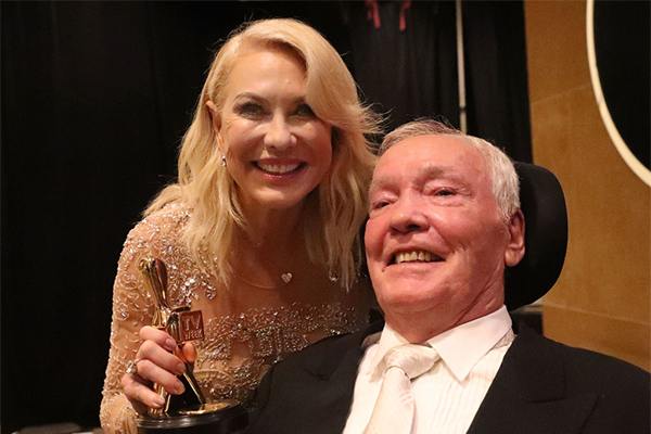 Article image for Kerri-Anne Kennerley's plea on behalf of her late husband
