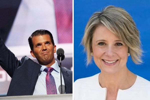 'Absurd': Kristina Keneally engaged in fiery Twitter feud with Donald Trump Jr