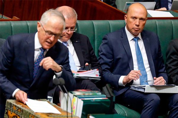 Peter Dutton has 'no regrets' one year after challenging Turnbull