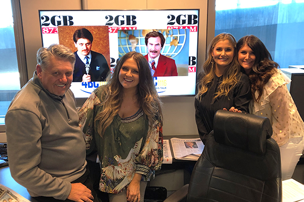 The McClymonts' hilarious reaction to Ray Hadley's old look