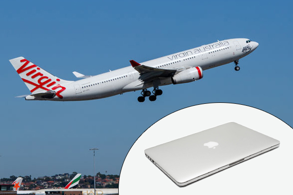 Article image for Australian airline bans all Apple laptops amid global fire risk