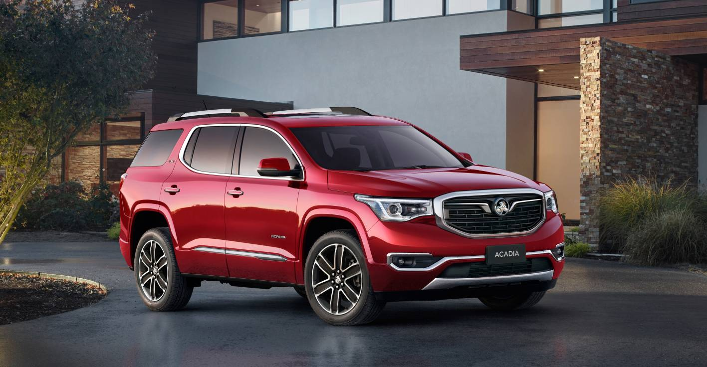 Holden's LTZ-V Acadia SUV –  an excellent large 7-seater in a very competitive segment