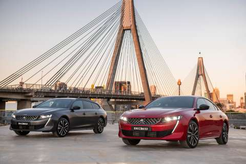 Peugeot's  new 508 arrives in style