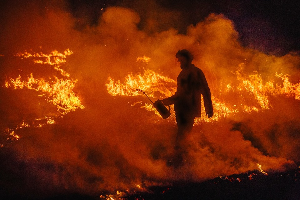 """No ordinary bushfire season"""