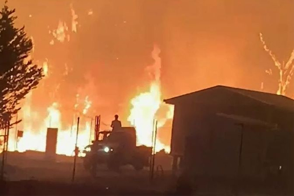 Article image for 'This is a national disaster!': Bushfires raging across NSW and QLD