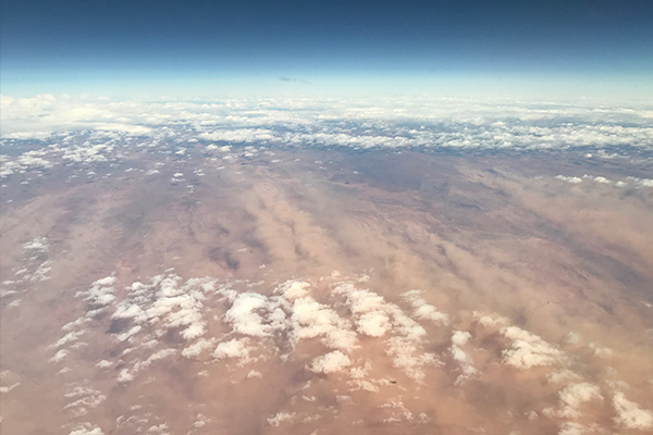 Article image for PHOTO | Incredible dust storm forming at Broken Hill