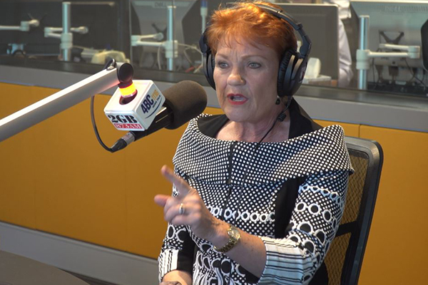 Pauline Hanson to 'draw a line in the sand' after hearing father's emotional call