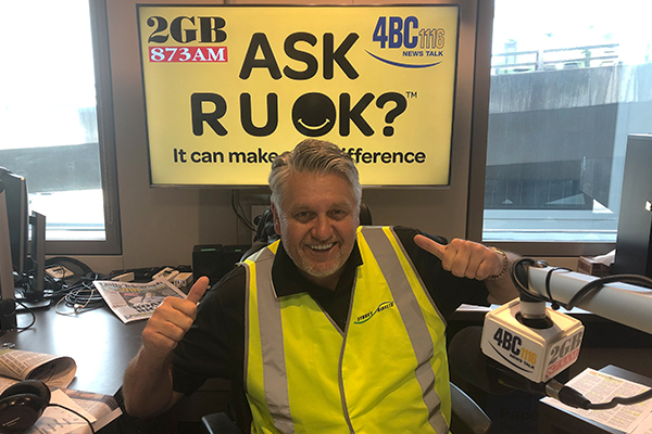 Article image for Ray Hadley's moving message to his listeners for R U OK? day