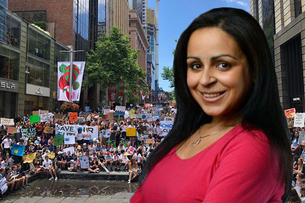 Kids using climate strike for a day off school: Rita Panahi