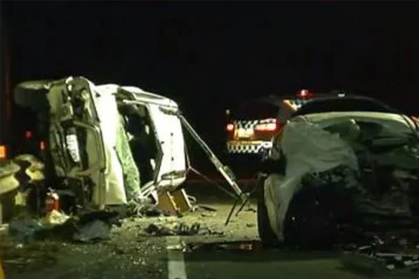 Two killed in horror head-on crash with stolen car