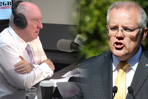 Scott Morrison refuses to commit to interview with Alan Jones