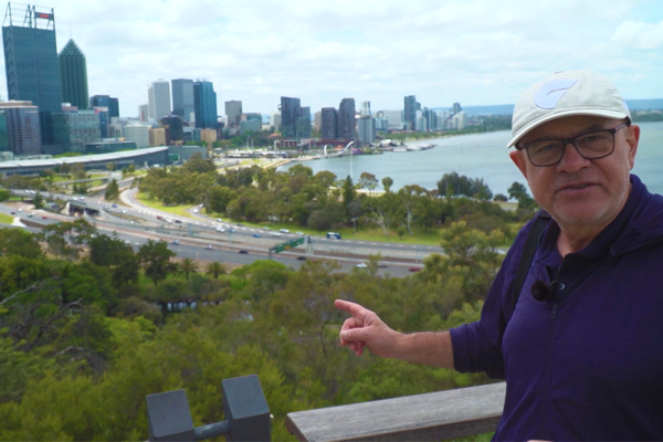 WATCH   John Stanley checks out the world's largest inner city park… in Perth!
