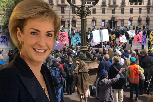 Article image for 'The answer is yes': Minister says climate protesters can be stripped of welfare