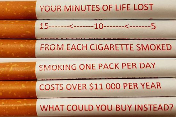 Article image for Health researchers call for warning messages on cigarettes