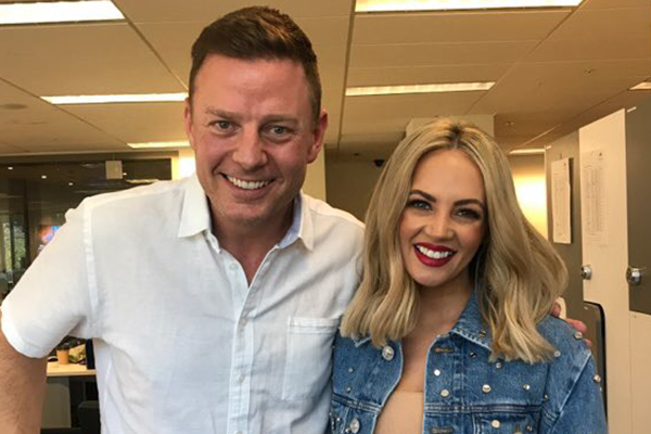 Ben Fordham and Samantha Jade join forces for a good cause