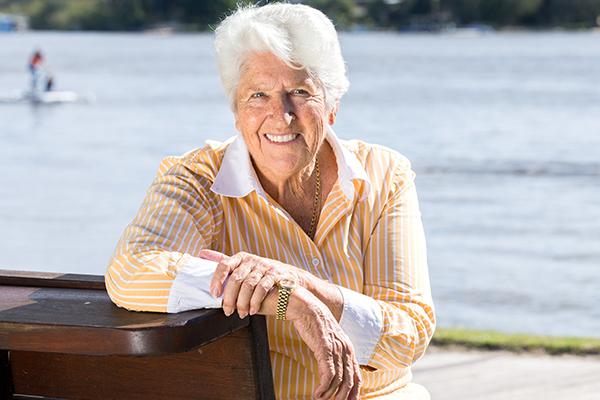 Dawn Fraser recalls her record breaking win 55 years ago