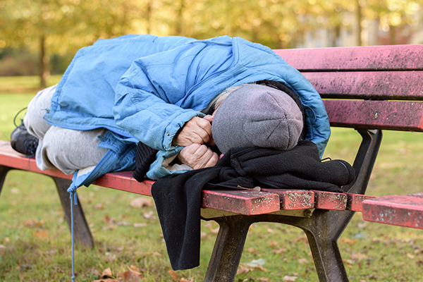 Homelessness on the rise among baby boomers