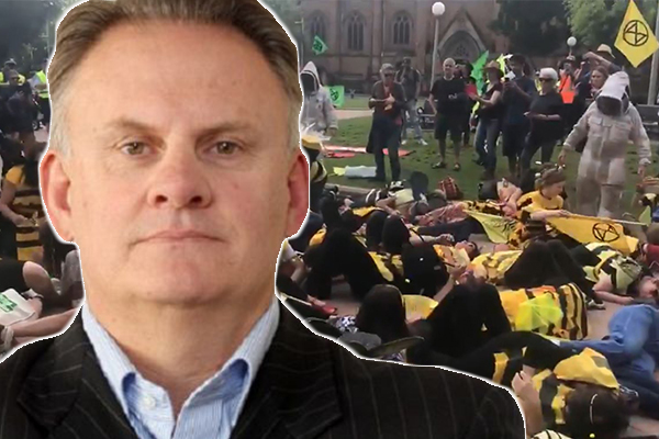 Article image for 'Jail them!': Mark Latham wants disruptive climate protesters behind bars