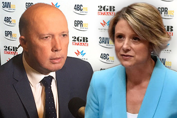 Article image for Peter Dutton calls Kristina Keneally his second 'Alan Bond'
