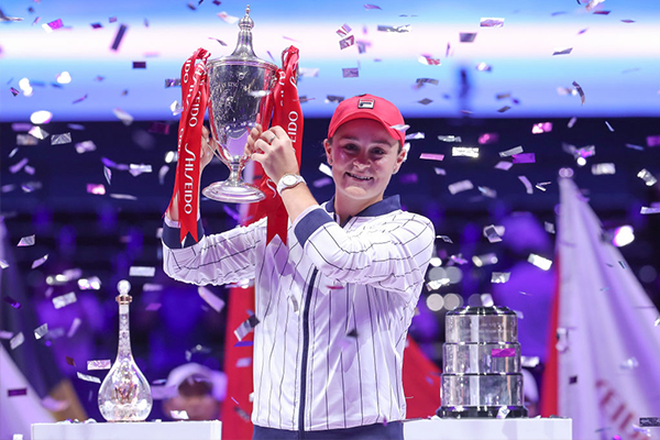Article image for The Barty party continues as Aussie Ash makes tennis history