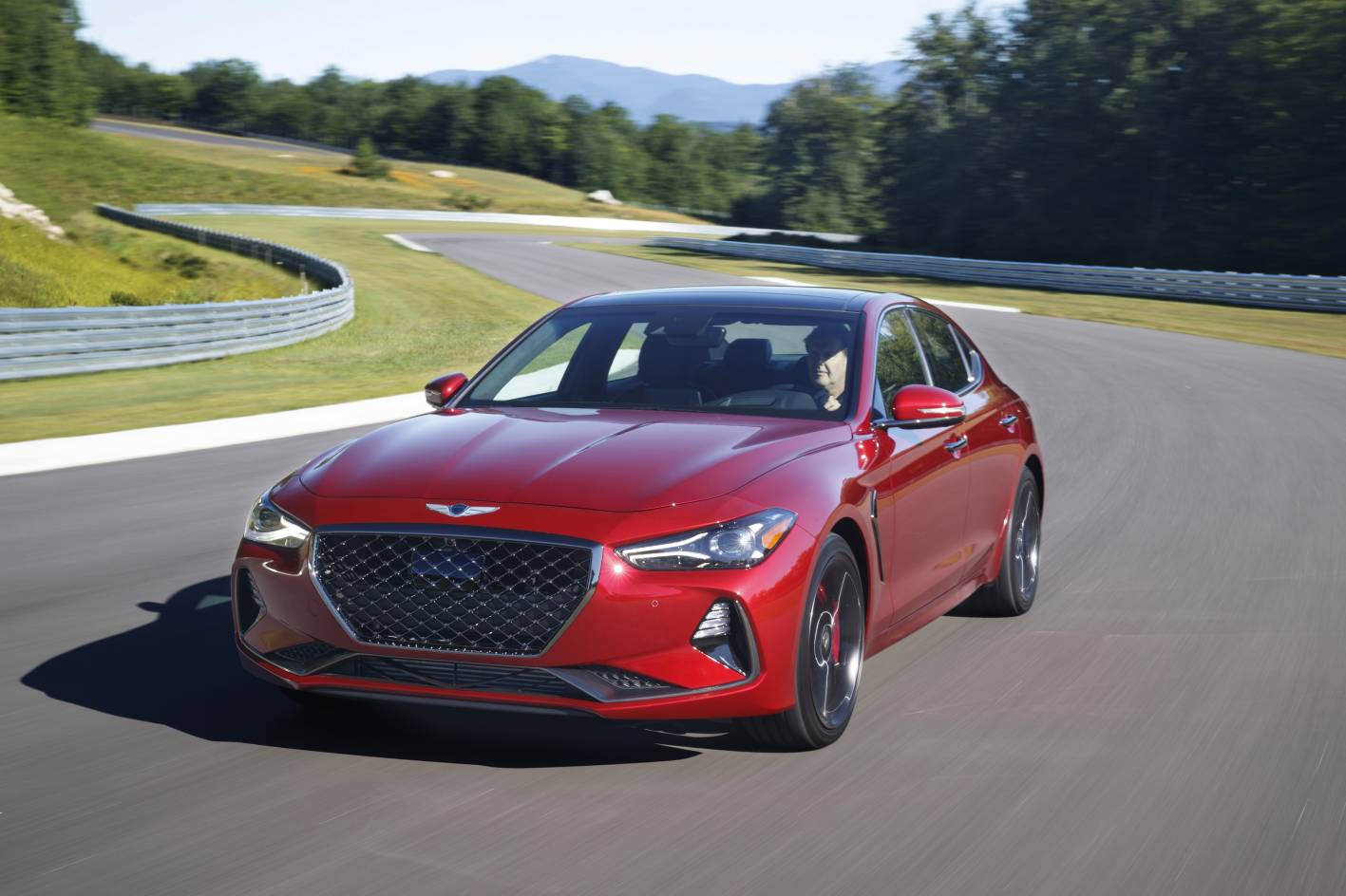 The Genesis G70 sedan arrives with high customer support and two impressive engine choices