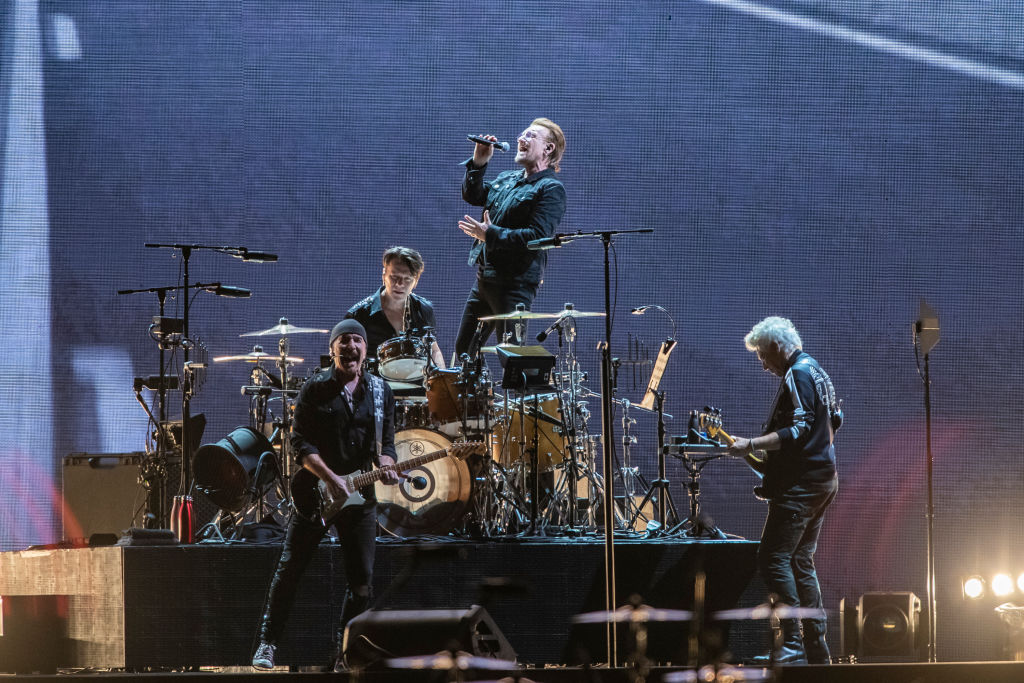Article image for Die-hard U2 fans need to camp out overnight if they want to get near the stage