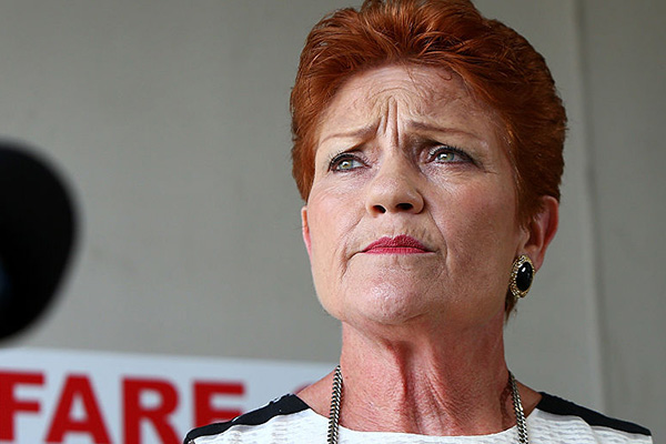 'So much hypocrisy': Pauline Hanson defends snub of union-busting bill