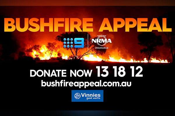 Article image for Donate to those in need via the Bushfire Appeal