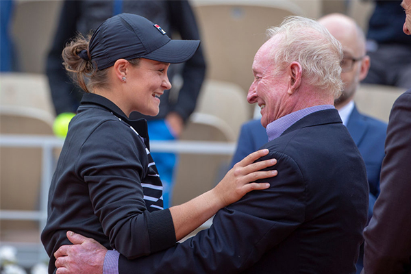 Why Ash Barty is a cut above the rest: Rod Laver
