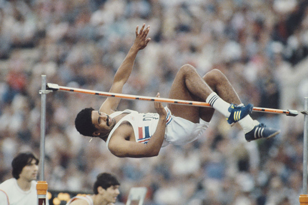 'A giver': The chance to ride with Olympic legend Daley Thompson
