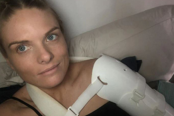 Article image for 'A long process': Erin Molan gives update on her horrific injury