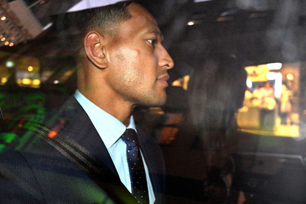 Israel Folau claims he could have been Wallabies captain