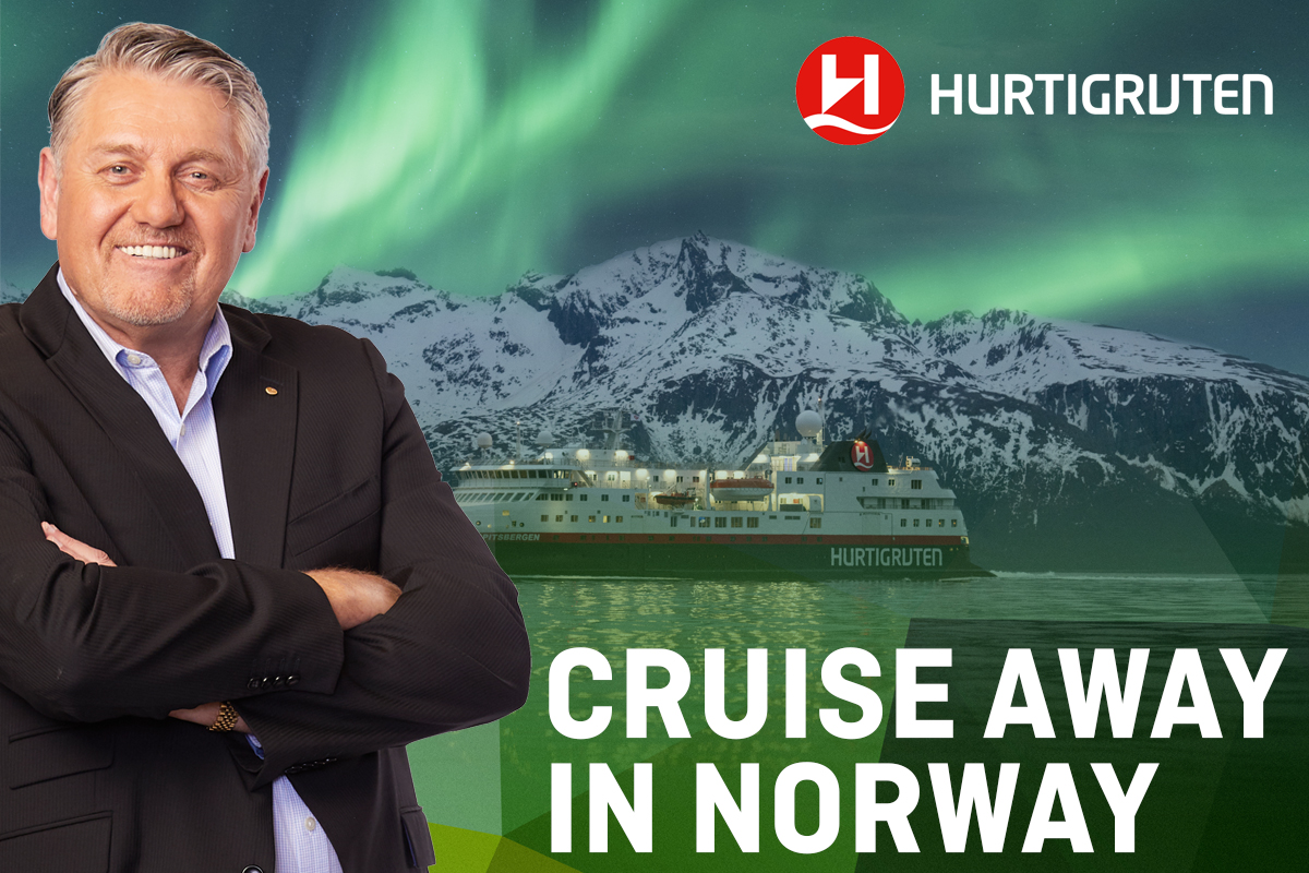 Win a Hurtigruten Norway Cruise