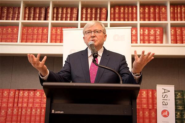 'Utterly ridiculous': Kevin Rudd calls for massive population increase