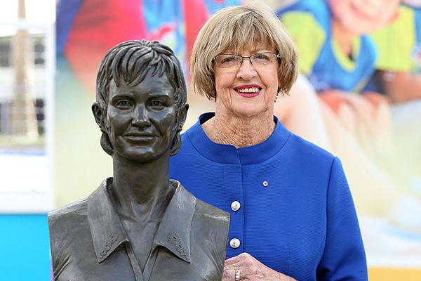 Margaret Court demands same respect as Rod Laver