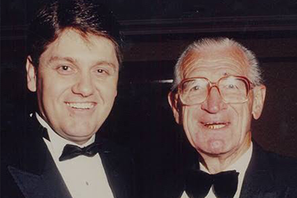 Article image for Ray Hadley pays tribute to 'voice of rugby league' Frank Hyde