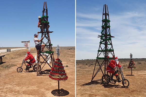 The most Aussie Christmas tree imaginable
