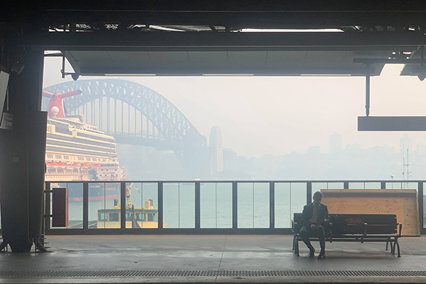 Article image for Health groups label Sydney's smoke haze a 'public health emergency'
