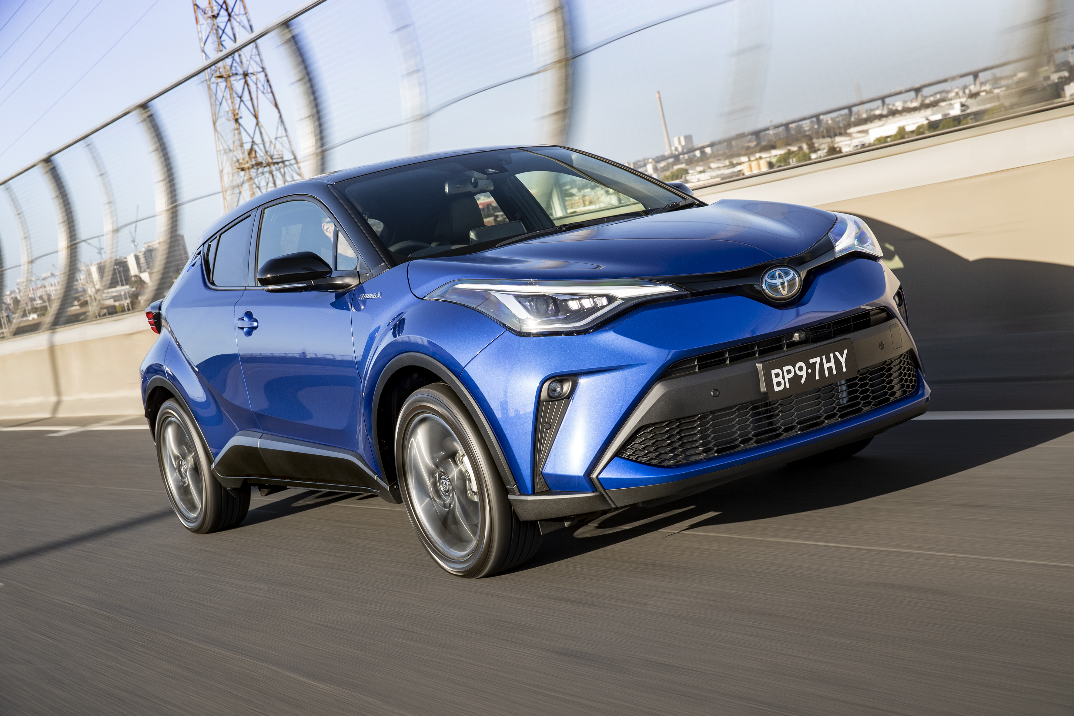 Upgraded Toyota CH-R SUV range adds hybrid-electric technology