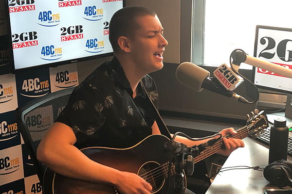 Article image for Golden Guitar nominee Angus Gill performs live in-studio